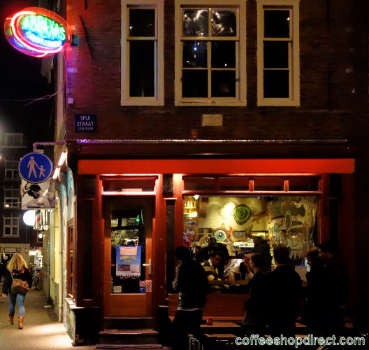 coffee shop Abraxas Too, Amsterdam, Noord Holland for cannabis. Historical information about a closed business.