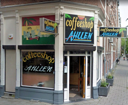 coffee shop Ahllen, Rotterdam, Zuid Holland for cannabis with address, telephone number, opening times, reviews, map, picture