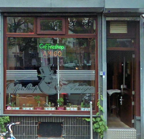 coffee shop Amigo, Rotterdam, Zuid Holland for cannabis with address, telephone number, opening times, reviews, map, picture