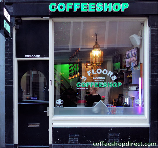 coffee shop Andalucia, Amsterdam, Noord Holland for cannabis