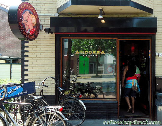 coffee shop Andorra, Hilversum, Noord Holland for cannabis with address, telephone number, opening times, reviews, map, picture
