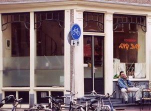 coffee shop Anyday, Amsterdam, Noord Holland for cannabis. Historical information about a closed business.
