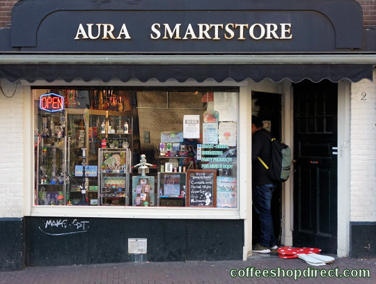 smart shop Aura 2, Amsterdam, Noord Holland for herbal highs with address, telephone number, opening times, email address, Facebook, Instagram, map, picture