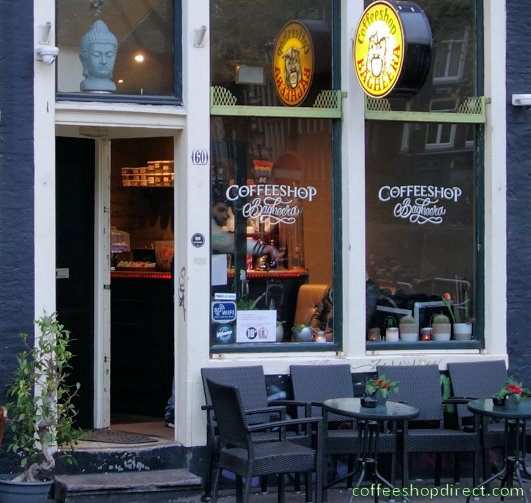 coffee shop Bagheera, Amsterdam, Noord Holland for cannabis