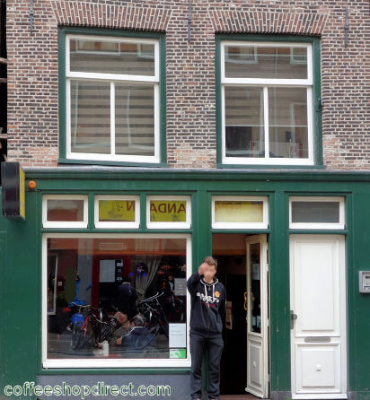 coffee shop Barney's Coffeeshop, Amsterdam, Noord Holland for cannabis