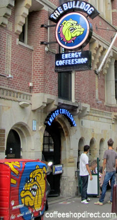 coffee shop The Bulldog Energy, Amsterdam, Noord Holland for cannabis with address, telephone number, opening times, email address, reviews, map, picture