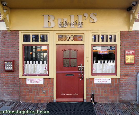 coffee shop Bull's, Deventer, Overijssel for cannabis with address, telephone number, opening times, Facebook, Instagram, reviews, map, picture