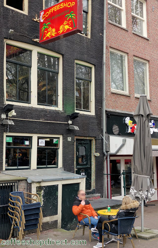 coffee shop The Bushdocter, Amsterdam, Noord Holland for cannabis with address, telephone number, opening times, reviews, menu, map, picture