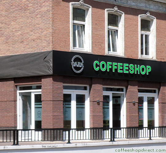 coffee shop Caza, Tilburg, Noord Brabant for cannabis with address, telephone number, opening times, reviews, map, picture