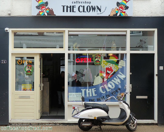 coffee shop The Clown, Groningen, Groningen for cannabis with address, telephone number, opening times, Facebook, Instagram, reviews, menu, map, picture