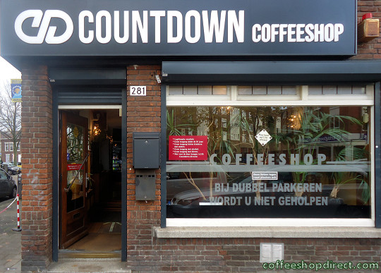 coffee shop Countdown, Rotterdam, Zuid Holland for cannabis with address, telephone number, opening times, Facebook, Instagram, reviews, map, picture
