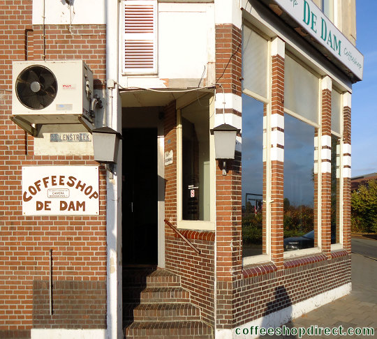 coffee shop De Dam, Veendam, Groningen for cannabis with address, opening times, reviews, map, picture