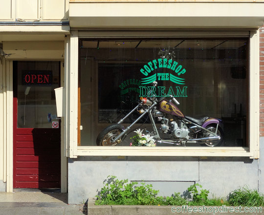 coffee shop The Dream, Amsterdam, Noord Holland for cannabis with address, telephone number, opening times, reviews, map, picture