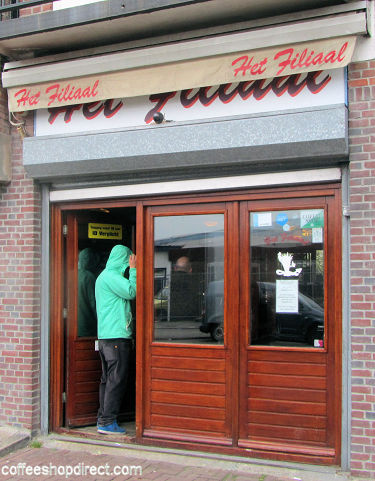coffee shop Hunter's Filiaal, Amsterdam, Noord Holland for cannabis with address, telephone number, opening times, email address, Facebook, Instagram, reviews, map, inside view, picture