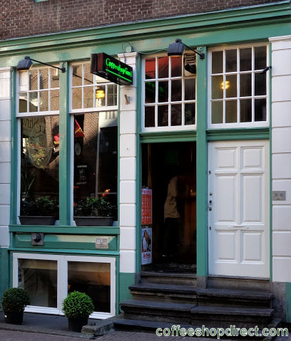 coffee shop Free I, Amsterdam, Noord Holland for cannabis with address, telephone number, opening times, Facebook, Instagram, reviews, menu, map, picture