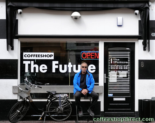 coffee shop The Future, Delft, Zuid Holland for cannabis with address, telephone number, opening times, Facebook, Instagram, reviews, map, picture