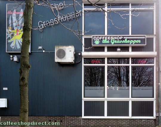 coffee shop Grasshopper, Enschede, Overijssel for cannabis with address, telephone number, opening times, email address, reviews, map, picture