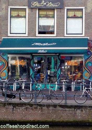 coffee shop Greenhouse Centrum, Amsterdam, Noord Holland for cannabis
