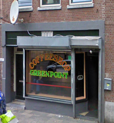 coffee shop Green Point, Rotterdam, Zuid Holland for cannabis. Historical information about a closed business.