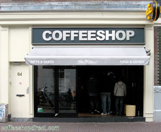 coffee shop Greenhouse Lounge, Amsterdam, Noord Holland for cannabis