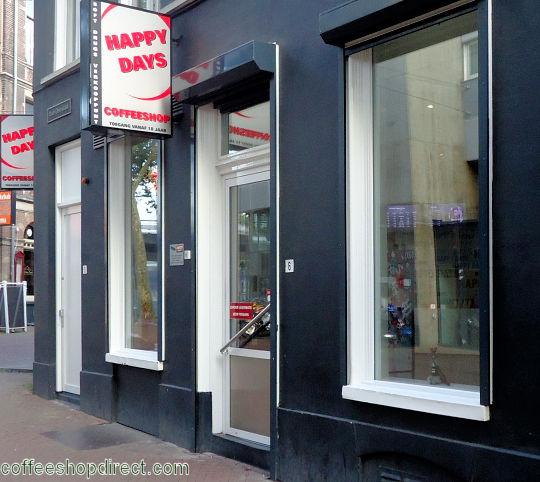 Happy Days, Arnhem - Amsterdam Coffeeshop Directory