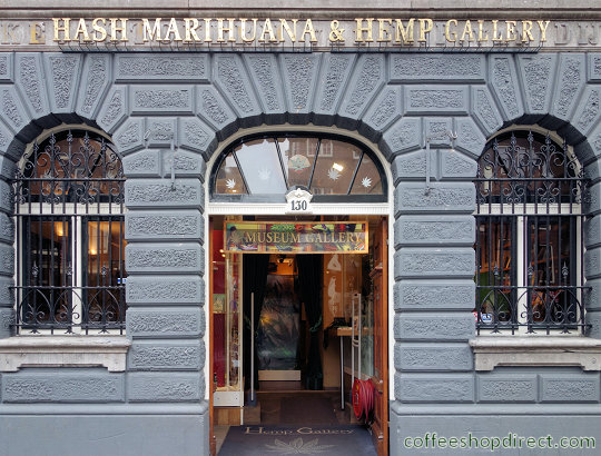 museum Hemp Museum Gallery, Amsterdam, Noord Holland for cannabis-related exhibits and demos with address, telephone number, opening times, map, picture