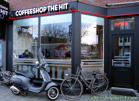 coffee shop De Hit, The Hague ('s-Gravenhage, Den Haag), Zuid Holland for cannabis