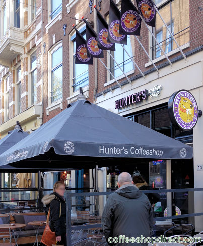 coffee shop Hunter's Rembrandtsquare, Amsterdam, Noord Holland for cannabis