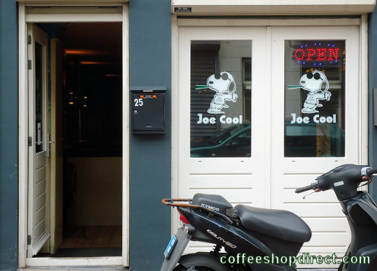 coffee shop Joe Cool, IJmuiden, Noord Holland for cannabis with address, telephone number, opening times, reviews, map, picture