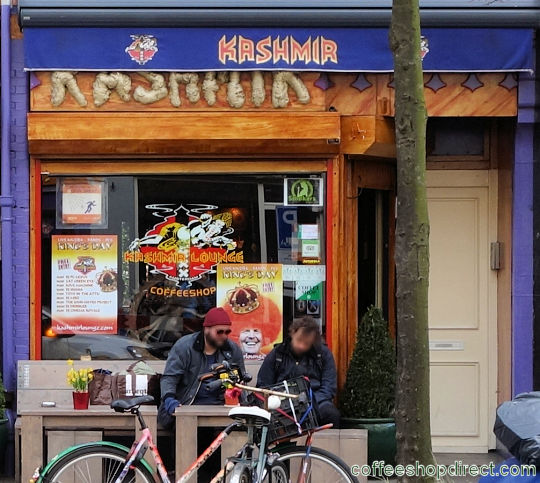 coffee shop Coffeeshop Kashmir, Amsterdam, Noord Holland for cannabis with address, telephone number, opening times, reviews, map, picture