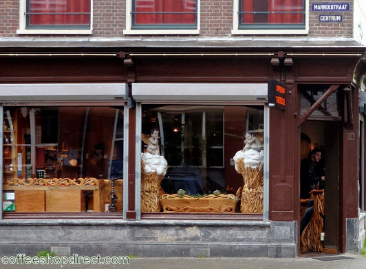 coffee shop 't Keteltje, Amsterdam, Noord Holland for cannabis