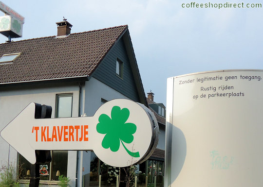 coffee shop 't Klavertje, Amersfoort, Utrecht for cannabis with address, telephone number, opening times, email address, Facebook, Instagram, reviews, map, picture