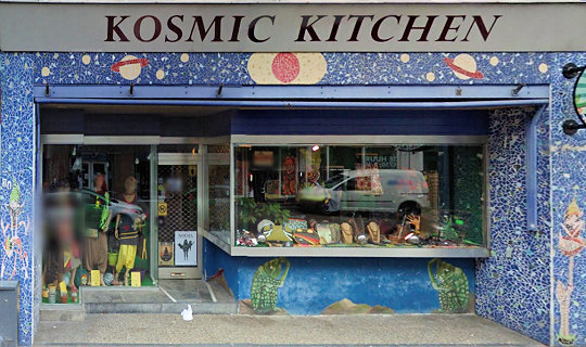 smart shop Kosmic Kitchen, Enschede, Overijssel for herbal highs with address, telephone number, opening times, email address, Facebook, Instagram, map, picture