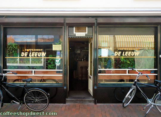 coffee shop De Leeuw, Hilversum, Noord Holland for cannabis with address, telephone number, opening times, reviews, map, picture
