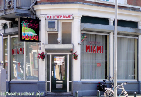 coffee shop Miami, Rotterdam, Zuid Holland for cannabis with address, telephone number, opening times, Facebook, reviews, map, picture