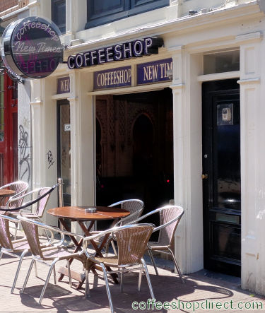 coffee shop New Times, Amsterdam, Noord Holland for cannabis