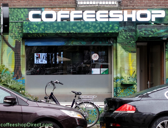coffee shop Nice Place, Amsterdam, Noord Holland for cannabis with address, telephone number, opening times, reviews, map, picture
