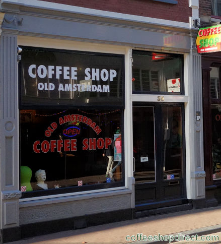 coffee shop Old Amsterdam, Amsterdam, Noord Holland for cannabis