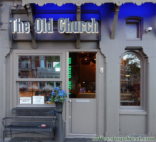 coffee shop Old Church 2, Amsterdam, Noord Holland for cannabis with address, telephone number, opening times, Facebook, Instagram, reviews, map, picture