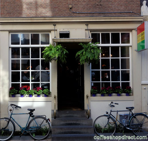 coffee shop The Otherside, Amsterdam, Noord Holland for cannabis with address, telephone number, opening times, Facebook, Instagram, reviews, menu, map, picture