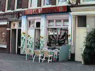 coffee shop De Overkant, Amsterdam, Noord Holland for cannabis. Historical information about a closed business.