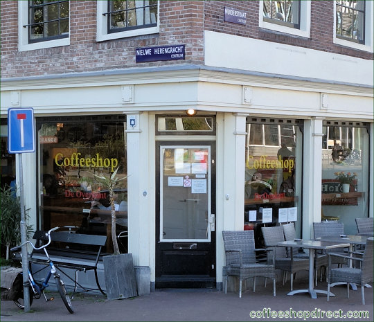 coffee shop De Overkant Hortus, Amsterdam, Noord Holland for cannabis