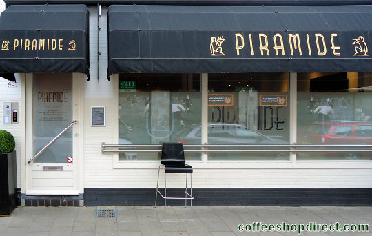 coffee shop Piramide, Bussum, Noord Holland for cannabis with address, telephone number, opening times, email address, Facebook, Instagram, reviews, map, picture