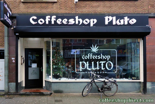 coffee shop Pluto, Rotterdam, Zuid Holland for cannabis with address, telephone number, opening times, Facebook, Instagram, reviews, map, picture