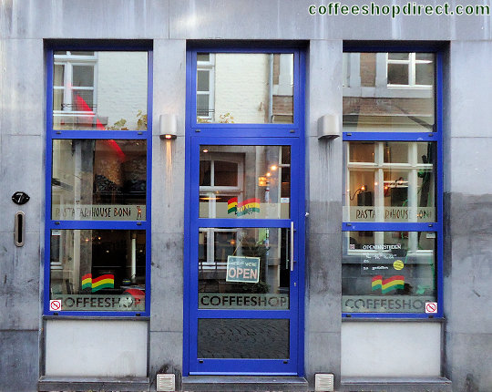 coffee shop Rastafarihouse Boni, Maastricht, Limburg for cannabis with address, telephone number, opening times, Facebook, Instagram, reviews, map, picture