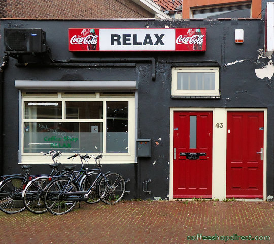 coffee shop Relax, Ede, Gelderland for cannabis. Historical information about a closed business.