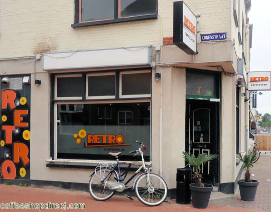coffee shop Retro, Groningen, Groningen for cannabis with address, telephone number, opening times, email address, Facebook, Instagram, reviews, map, picture