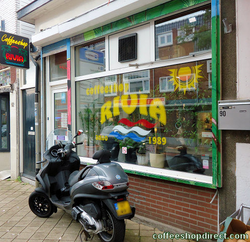 coffee shop Rivia, Zeist, Utrecht for cannabis with address, telephone number, opening times, Facebook, reviews, map, picture