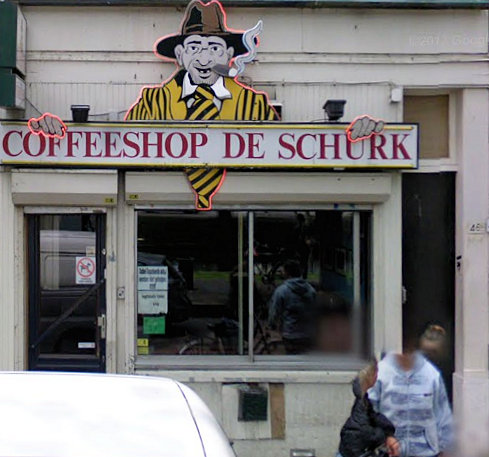 coffee shop De Schurk, Rotterdam, Zuid Holland for cannabis with address, telephone number, Facebook, Instagram, reviews, map, picture