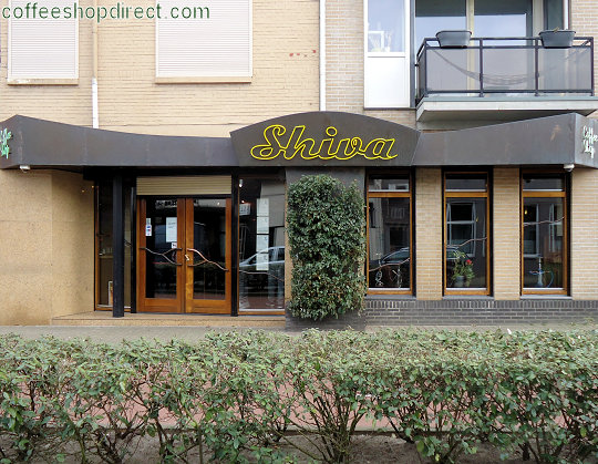 coffee shop Shiva, Tilburg, Noord Brabant for cannabis with address, telephone number, opening times, email address, Instagram, reviews, map, inside view, picture